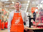Sales jump at Home Depot