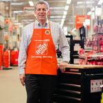 How much did Home Depot bump up CEO <strong>Craig</strong> <strong>Menear</strong>'s total comp in 2015?