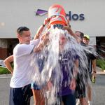 D.C. United ice bucket-challenged Leidos CEO Roger Krone, who ice bucket-challenged... wait.. Who did he say? (Video)