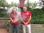 OK, WBJ's Jamey Fry and Leidos' Roger Krone, we accept your ice-bucket challenges (Video)