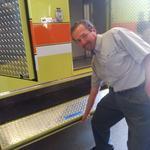 Sprecher Brewing prepares fire truck for second traveling beer garden at Wisconsin Harley-Davidson
