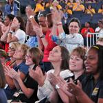 Charlotte schools kick off with all-employee pep rally (PHOTOS)