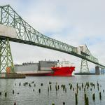 Nation's largest drydock floats toward its new Portland home
