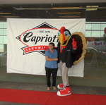 Here's the woman who waited since 3:30 a.m. for the opening of <strong>Capriotti</strong>'s in Rosslyn (Video)