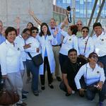 Peruvian Lions visit OHSU