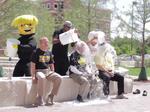 Wichita State's Bardo, Tomblin and Vizzini take the ice bucket challenge