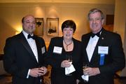 Joe Martore, from left, Candy Duncan, and Bob Bedingfield at the 2013 Outstanding Directors Awards.