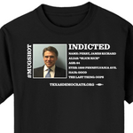 Texas Democrats fire back with their own Perry indictment T-shirt