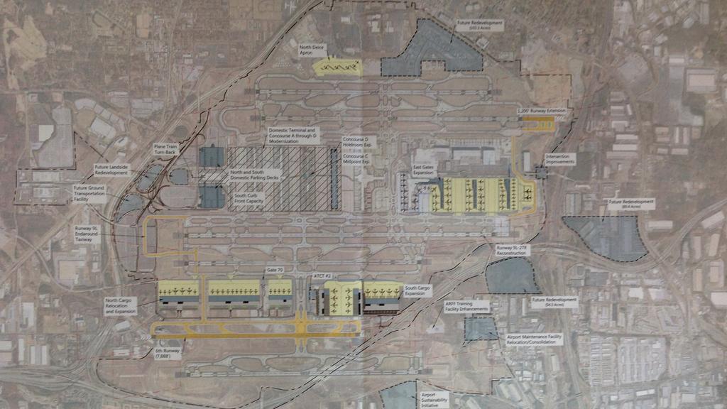 new atlanta airport master plan eyes new gates sixth runway atlanta business chronicle