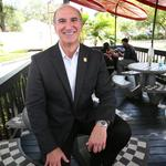 From the Roadhouse Baconzilla to modular restaurants, the CEO of Checkers is all about value