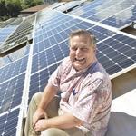 Solar grid lock