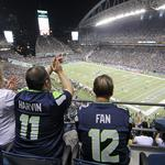 How much will it cost to get into tomorrow's Seahawks game? A lot