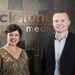 Blackstone Media's leaders make a good team