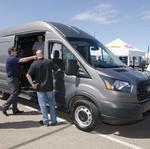 Ford introduces Transit van to dealers, businesses in Phoenix