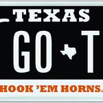 Black is the new burnt orange: UT unveils Longhorns license plate designs
