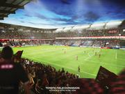 Interior rendering of Toyota Field expansion