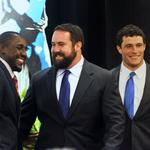 Panthers players optimistic at Charlotte Touchdown Club (PHOTOS)