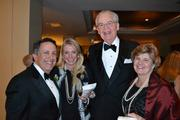 Sunrise Senior Living CEO Mark Ordan, from left, with Lynn Krominga, Bill Little, and Glyn Aeppel at the 2013 Outstanding Directors Awards.
