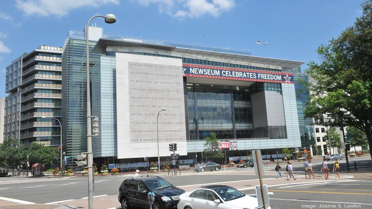 Johns Hopkins University Plans To Convert The Newseum At 555 Pennsylvania Ave NW Into An