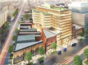 Douglas Development Corp. is preparing for the construction of 655 New York Ave. NW, a 435,000-square-foot building it is planning to develop near Mount Vernon Square.