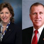 How much did <strong>Hagan</strong> and <strong>Tillis</strong> spend on their U.S. Senate campaigns in N.C.?