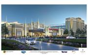 Artist's rendering of proposed casino that Penn National Gaming wants to build at Rosecroft Raceway in Prince George's County.