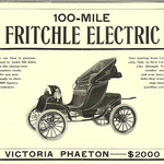 A century before Elon Musk's Tesla, Denver's Oliver Fritchle pioneered the electric car