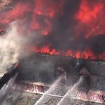 5-alarm blaze burns 2 buildings in Mission District