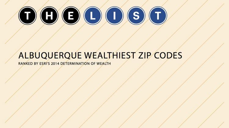 Here S An Interactive Map Of New Mexico S Wealthiest Zip Codes