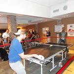 Brewers, Packers battle in pingpong for charity: Slideshow