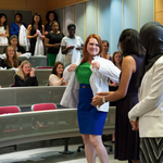 From caps to coats: Why <strong>George</strong> Washington University's nursing school has its own white coat ceremony, too