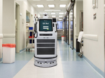 Watch how Vecna Technologies' QC Bot will shuttle supplies around hospitals (Video)