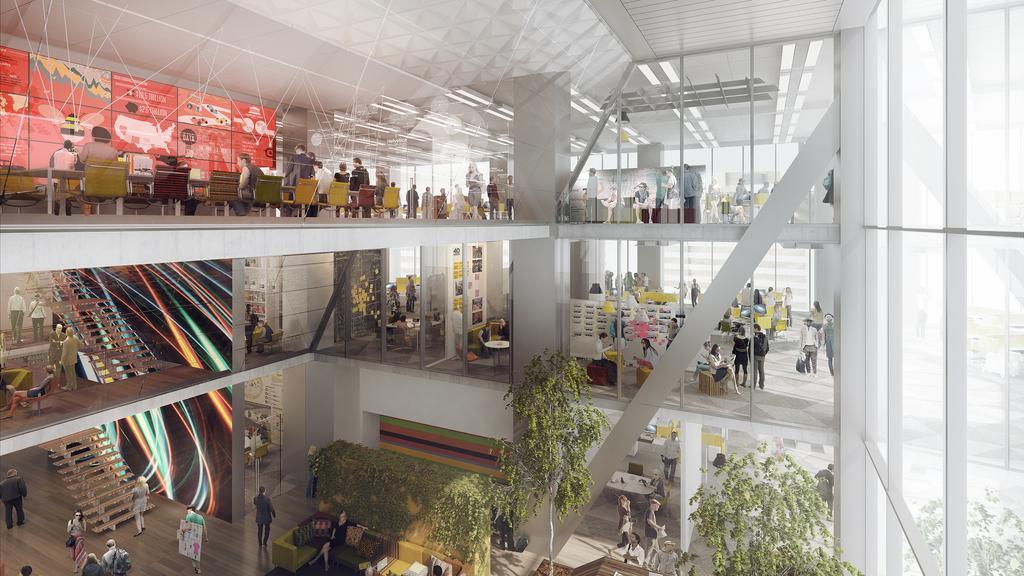 Comcast Chooses Firm To Design Interior Of New Skyser Philadelphia Business Journal