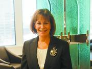 Deb Moore, vice president and trust specialist with Hilliard Lyons trust company office in Louisville