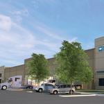 Ground breaks on Portland region's newest industrial building