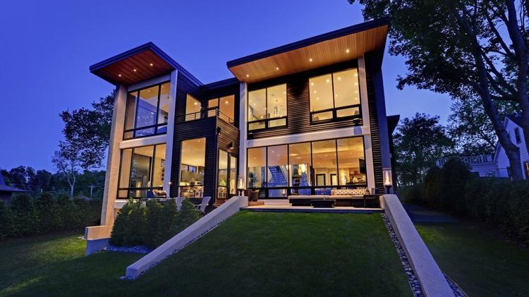 Dream Homes: Contemporary windows on Lake Minnetonka for $2.9M ...
