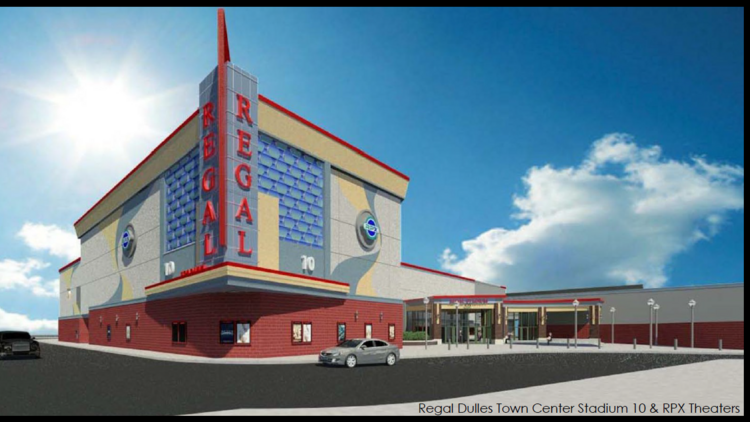 Lerner Enterprises Added This Regal Stadium 10 Rpx Theater That To Dulles Town Center In