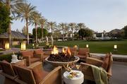 A patio at the Arizona Biltmore Resort & Spa.
