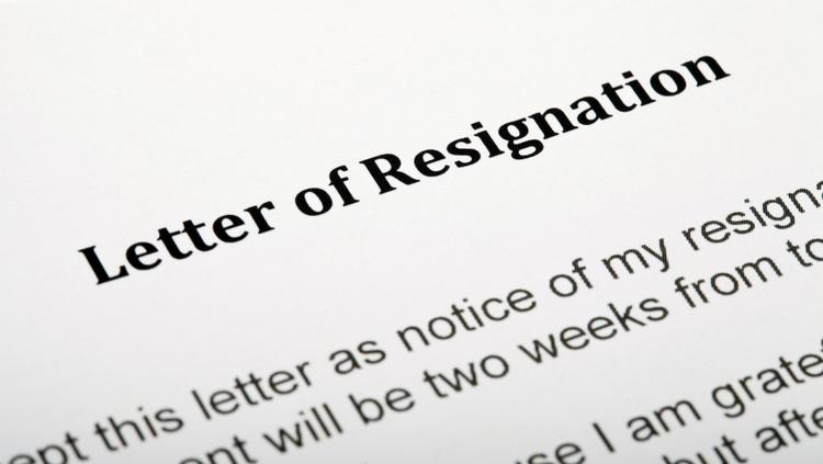 resign from board of directors