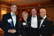 John Benziger, from left, Linda Rabbitt, Rusty Linder, and Juan Gonzalez at the 2013 Outstanding Directors Awards.