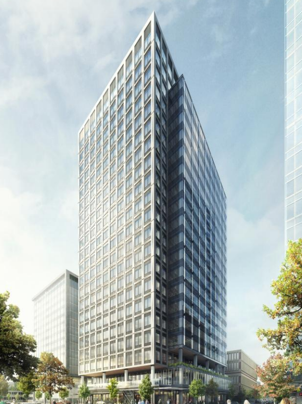 Cost for seattle office high rise site crosses the 1 000 for Website building cost