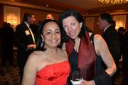 Carolyn Pratt, left, with Laura Kennedy at the 2013 Outstanding Directors Awards.