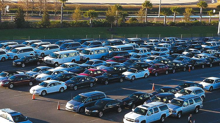 Orlando International Airport S 2 15b South Terminal Car Rental