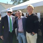 Wes Edens, Jabari Parker visit with Green Bay Packers fans at Lambeau