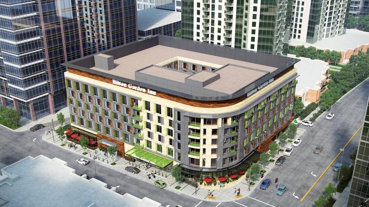 West 77 Partners Plans To Develop This 254 Room Hilton Garden Inn On The  Washington