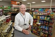 7-Eleven franchise owner, Dan Wise, in his Treasure Island store on Gulf Boulevard, one of three