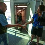 Denver airport opens 5 new gates for Southwest Airlines; will provide Apple iPads