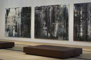 Three arts pieces by Gerhard Richter in the East Building.