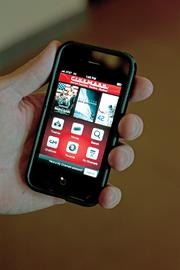 Cinemark's mobile app, Cinemode, allows users  to check show times and purchase tickets. But it also allows users to be rewarded for dimming and silencing their phones while in a movie. Cinemode keeps a phone silent and dim for the duration of the movie. When the user turns off Cinemode after the movie and returns the phone to its previous settings, the user is offered a reward such as free concession items or free movie posters.
