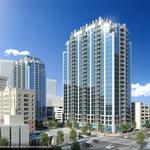 Another SkyHouse apartment tower breaks ground downtown